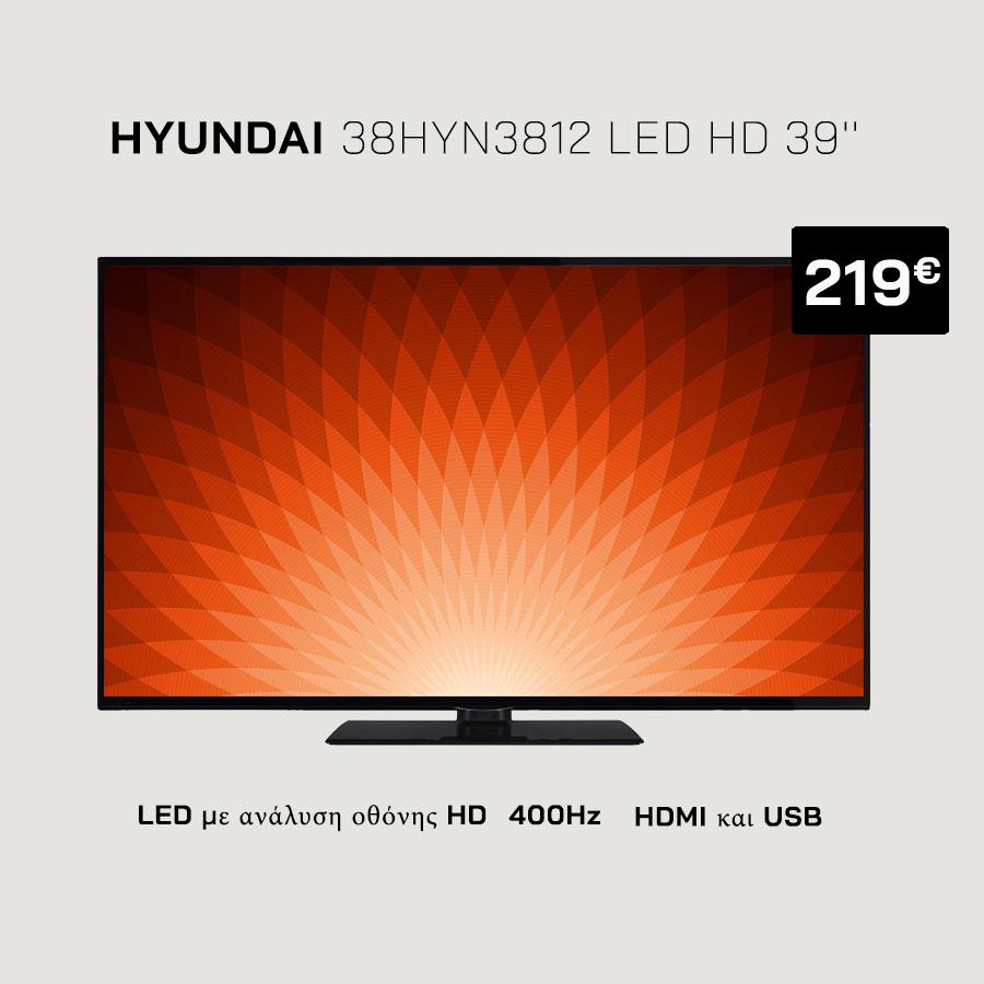 Hyundai 38HYN3812 LED TV
